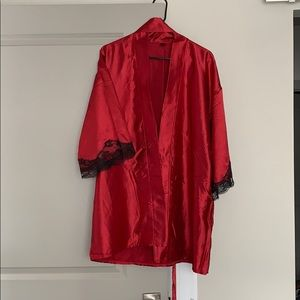 Frederick's of Hollywood Robe